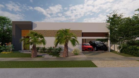 Yucatan Country Club Casa De Una Planta En Venta En El Privada Cutzam