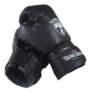 Luva De Boxe Muaythai Cx Tanoshi Black - Preço Fábrica