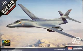 Academy 1/144 12620 Usaf B-1b 34th Bs Thunderbirds