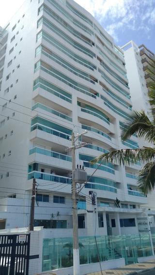 Apartamento Frente Ao Mar No Centro De Mongaguá