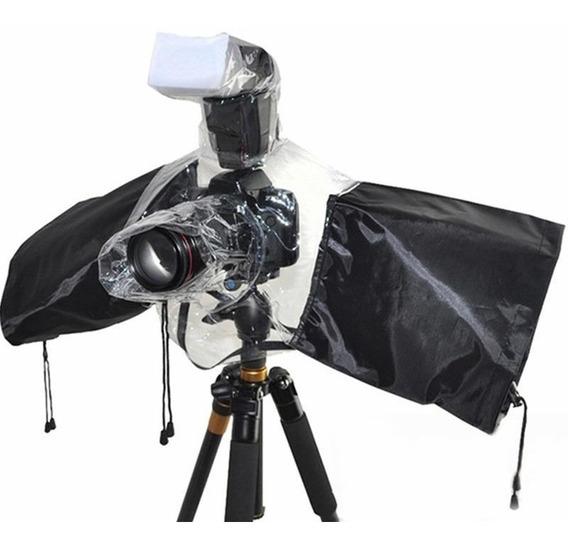Capa Protetora De Chuva P/ Câmeras Fotográfica Dslr - Oferta