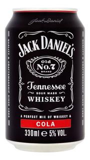 Lata Jack Daniels Cola 330ml La Plata Envios Al Pais