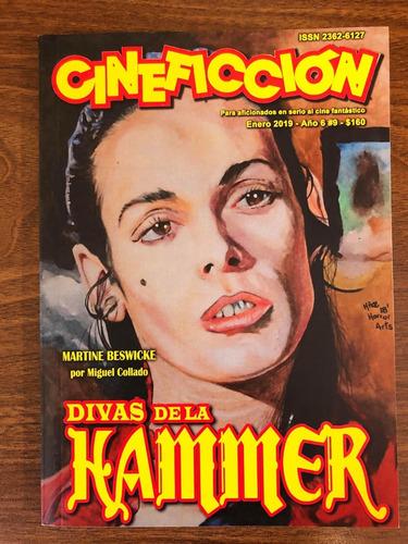 Revista Cineficción Nº9 Martine Beswicke Hammer Horror Scifi