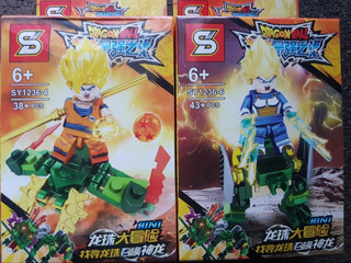 Muñecos Legos Dragón Ball Figuras Armables Dragon Ball 3uni
