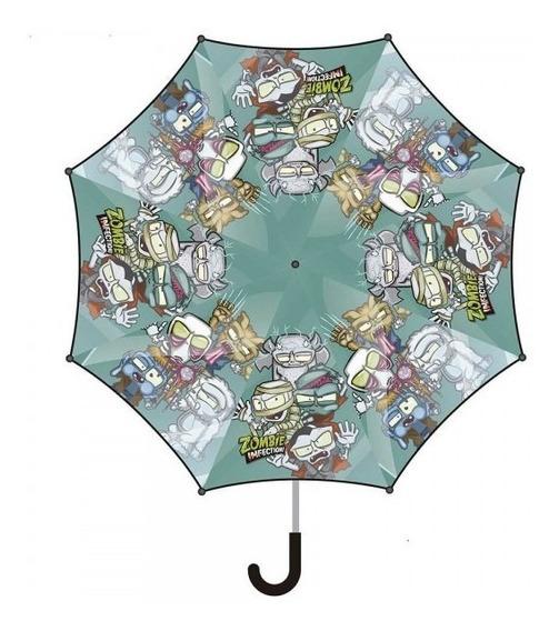Zombie Infection Paraguas Nene Infantil 17 Pulgadas Original