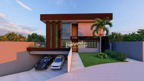 Imagem 1 de 4 de Casa Com 3 Dormitórios À Venda, 319 M² - Condomínio Terras Do Vale - Caçapava/sp - Ca2159