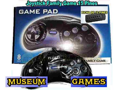 X2 Joystick 15 Pines Para Family Game Super Reforzados - Mg