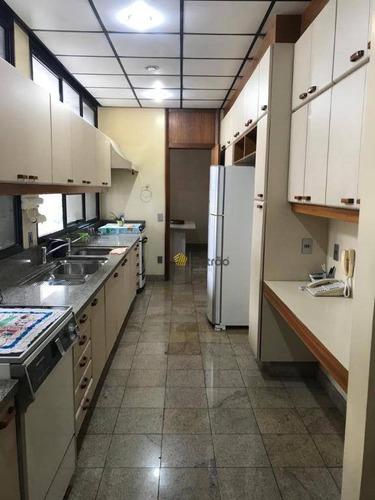 Apartamento Com 4 Dormitórios À Venda, 380 M² Por R$ 1.380.000,00 - Centro - São Bernardo Do Campo/sp - Ap3181