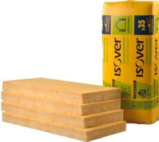 Panel De Lana De Vidrio Acust Isover P 50 Mm 0.96x1.20 35kg