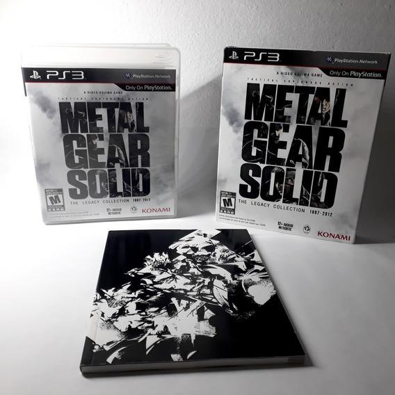 Jogo Metal Gear Solid Legacy Hd Collection Ps3 Original Raro