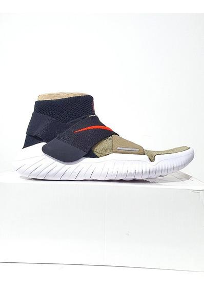 Tênis Nike Free Rn Flyknit 2018 Motion Treino Verde N. 38