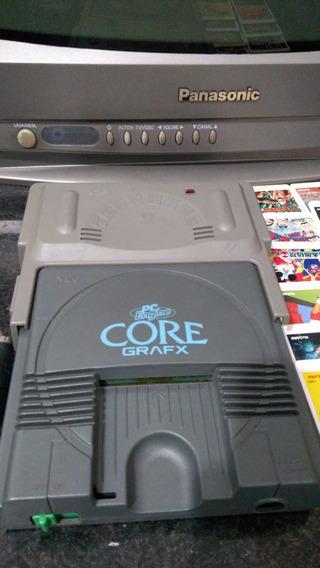 Pc Engine Core Grafx + Tennokoe 2 C/ 12 Hu-cards Jogos