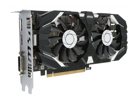 Placa De Video Geforce Msi Gtx 1050ti 4gb Oc Gddr5 2