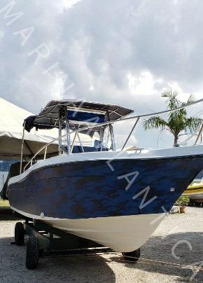 Fishing 265 Ano 2002 01xmercruiser 4.2 - 250hp Marina Atlant