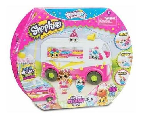 Beados Shopkins Ice Cream Truck Camion De Helados 400