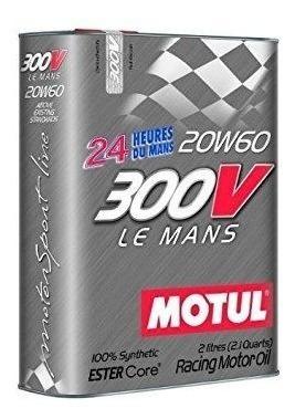 Motul 300v Le Mans Sae 20w60 2 Litros - 100% Sintético