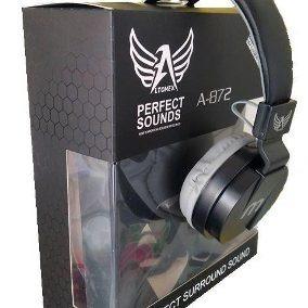 O Melhor Fone De Ouvido Grande C/ Microfone Na Promoção