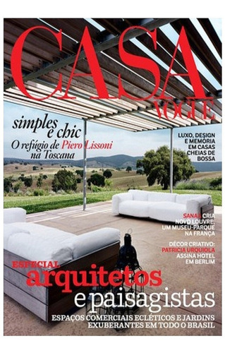 Revista Casa Vogue Especial Arquitetos E Paisagistas. 322 Pg