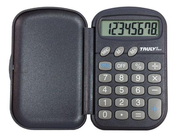 Calculadora Pessoal Truly 319a 8 Dígitos