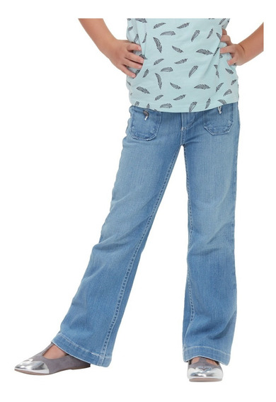 Jeans Innermotion Para Niñas Flare Fit. Estilo 7107