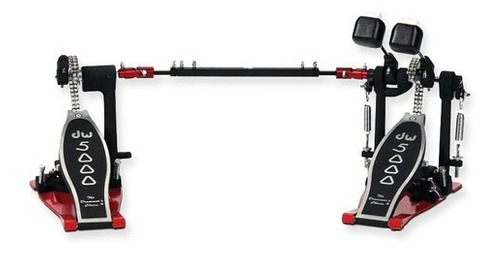 Pedal De Bombo Doble P/ Bateria Dw Dwcp5002 Adh Sin Taco