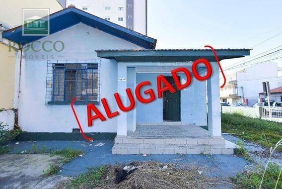 Casa Comercial Para Locação, Centro, São José Dos Pinhais. - Ca0106