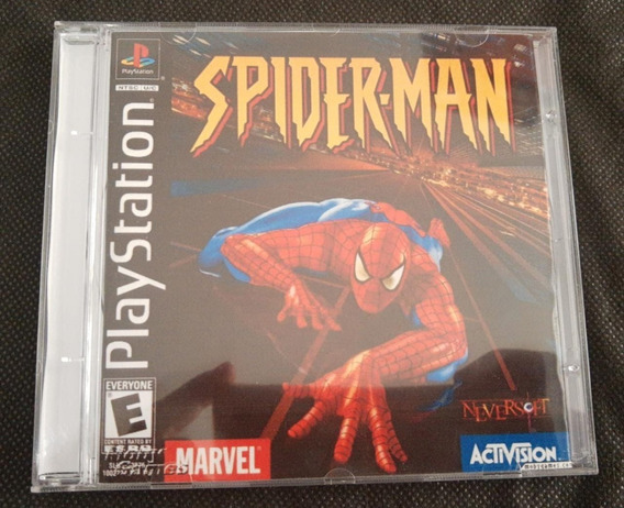Spider Man 1 Ps1