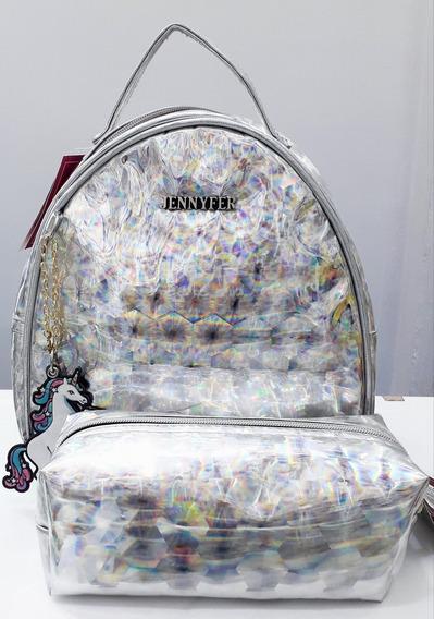 Mini Backpack + Cosmetiquera Jennyfer