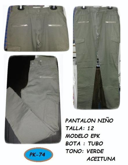Pantalón Niño Jeans Talla 12 Niño Juvenil