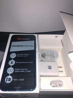 Huawei P20 Lite 32gb 4 Ram 3 Camaras Cero Rayas