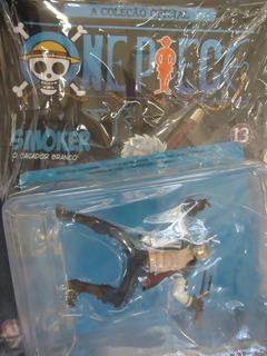 Figuras One Piece Salvat 13 Smoker O Caçador Branco