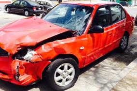 Verna By Dodge Chocado Partes Refacciones Autopartes Piezas
