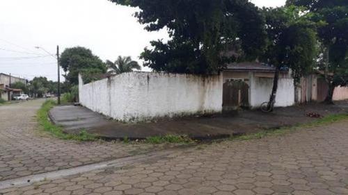Casa De Esquina Em Rua Calçada 800 Metros Do Mar Itanhaém - 0042-cs