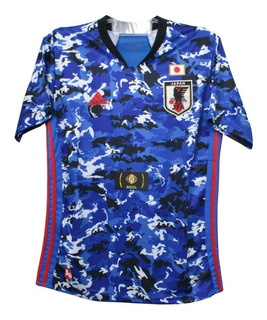 Camisa Do Japão Seleção Azul Masculina Oficial - Promoção