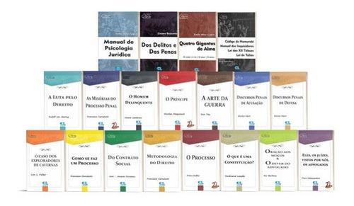 Imagem 1 de 1 de Clássicos Do Direito - 19 Volumes (3.142 Páginas)