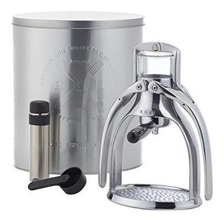 Rok Manual Espresso Maquina Silver, One Size