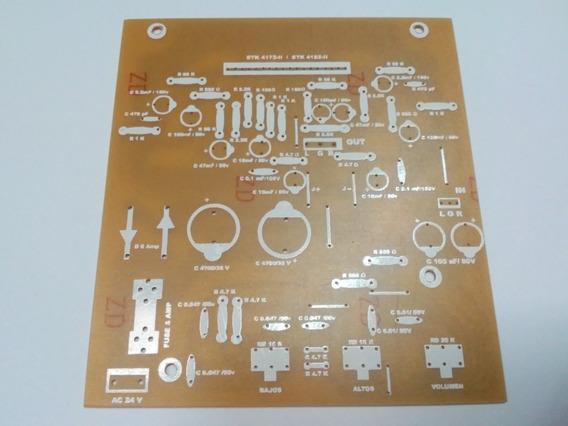 Plaqueta Circuito Impreso Stk4172 Stk4192