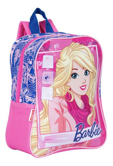 Mochila Pequena Barbie 18m