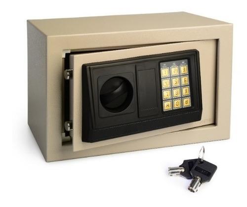 Imagen 1 de 7 de Caja Fuerte Digital Electronica Llave 31x20x20 Envio Gratis
