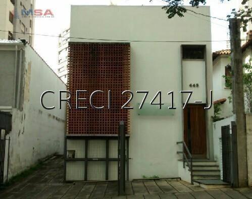 Casa Para Alugar, 322 M² Por R$ 10.000,00/mês - Perdizes - São Paulo/sp - Ca0344