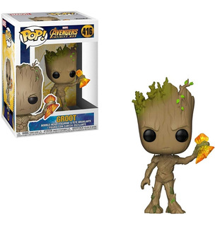 Funko Pop Groot #416 Stormbreaker Infinity War Regalosleon