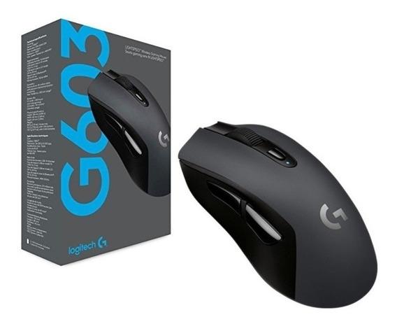 Mouse Gamer Logitech G603 12000dpi Hero Lightspeed (sem Uso)