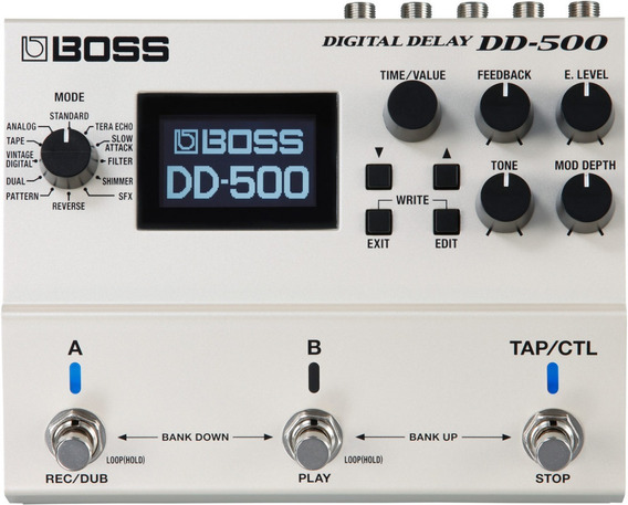 Pedal Guitarra Boss Digital Delay Dd-500 Dd500 Nota Fiscal