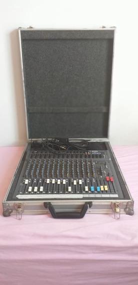 Mesa De Som Soundcraft Spirit Folio Sx 20 Canais Com Case