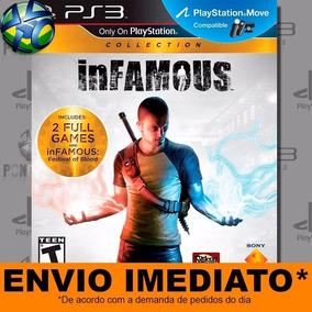 Jogo Infamous 1 + 2 + Dlc Collection Ps3 Digital Psn