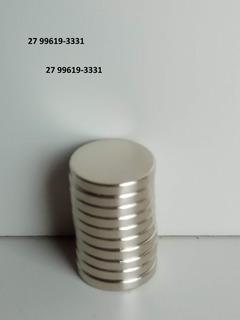 Super Ímã Neodímio Superpotente 10 Pçs Ø10 X 2mm