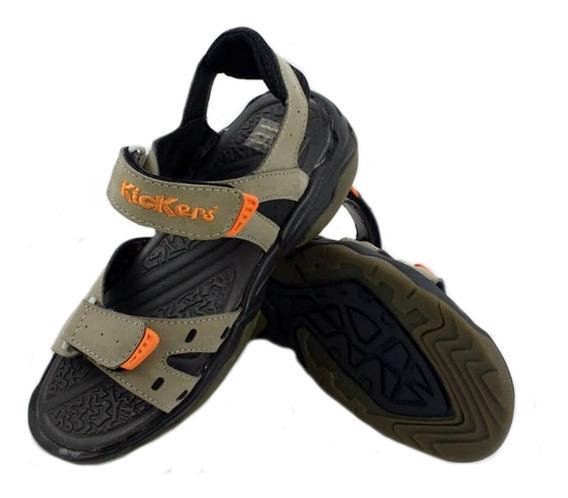 Sandalias Kickers Lumix Urbanas Niños 590218 Eezap