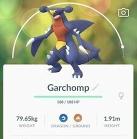 Garchomp Pokemon Go