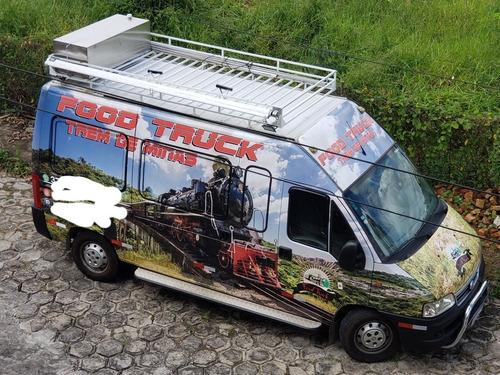 Food Truck Motor Home Fiat Ducato 2009 2.8 Jtd Longo Teto A