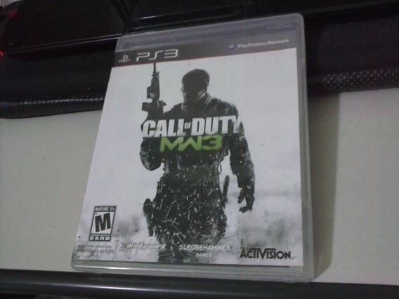 Ps3 - Call Of Duty: Modern Warfare 3 ( Física ) - Frete 6,00